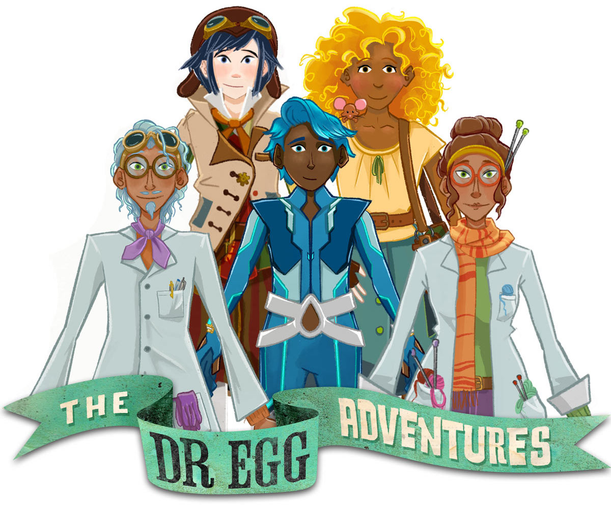 Dr Egg Adventures Characters